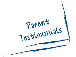 Parent Testimonials: We love hearing from our families!