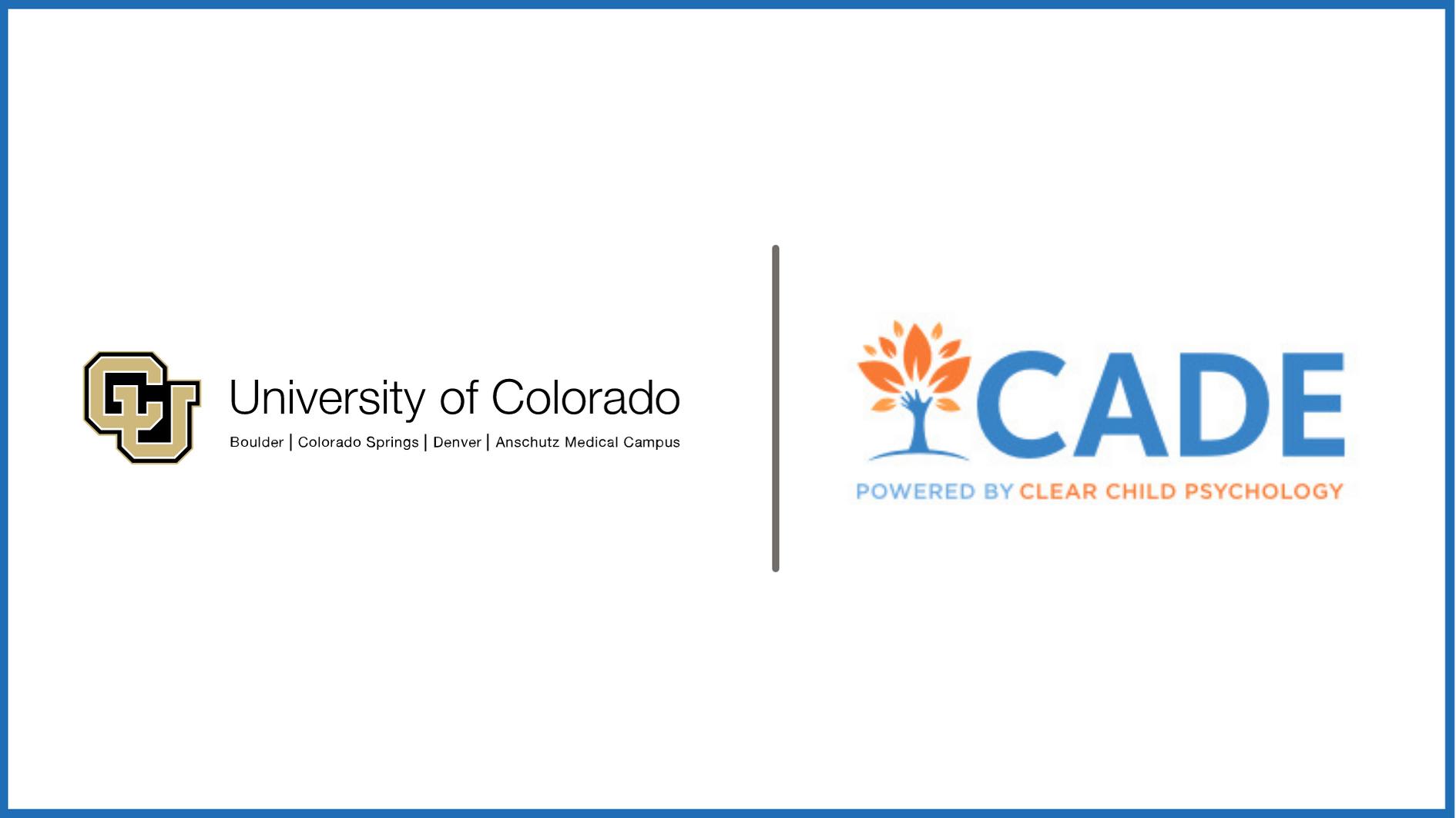 The University of Colorado studies CADE